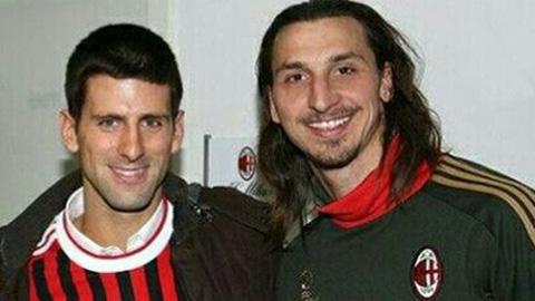 Djokovic ca ngợi 'người bạn tuyệt vời' Ibrahimovic