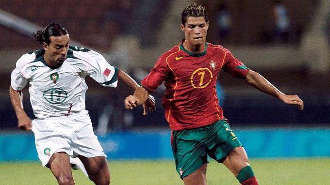 Ronaldo cùng ĐT U23 Bồ Đào Nha bị loại ngay từ vòng bảng Olympic 2004