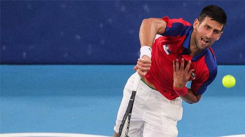 Olympic Tokyo 2020: Djokovic thắng trận thứ 20 liên tiếp