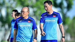 HLV Park Hang Seo giao nhiệm vụ đặc biệt cho trợ lý Kim Han Yoon