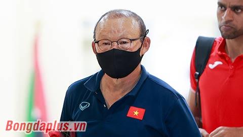 HLV Park Hang Seo chỉ đạo trực tuyến ĐT Việt Nam