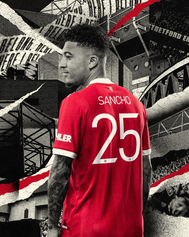 Jadon Sancho khoác áo Man United với rất nhiều kỳ vọng về thành công