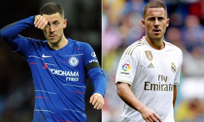Chelsea thu về gần 200 triệu từ thương vụ bán Hazard cho Real
