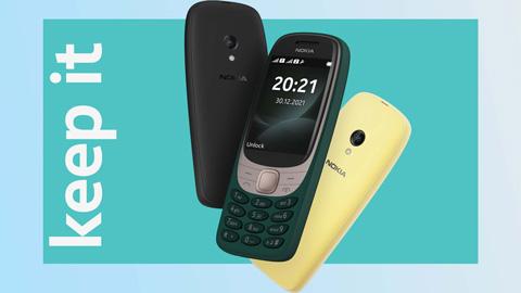 HMD Global làm mới phiên bản Nokia 6310, giá 40 Euro