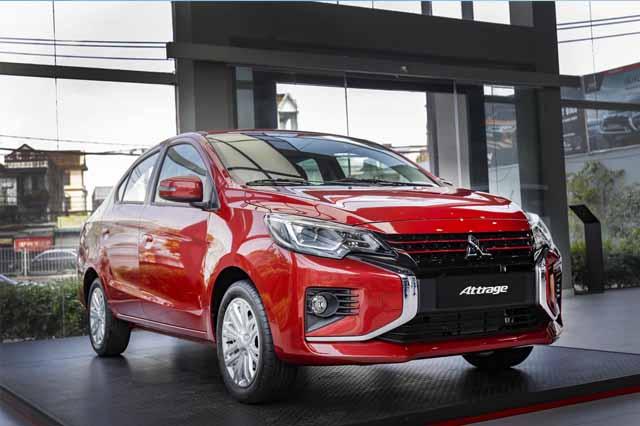 Mitsubishi Attrage mới ra mắt thêm phiên bản mới trong năm 2021