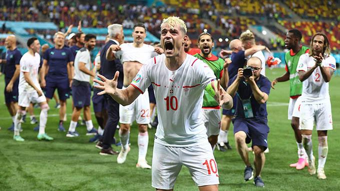 Xhaka đã chơi hay ở VCK EURO 2020