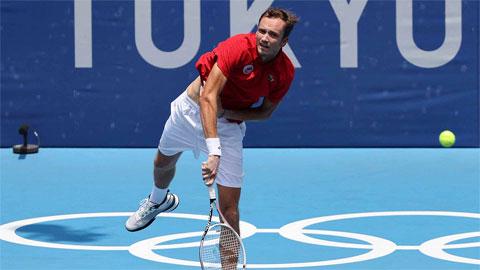 Daniil Medvedev vào tứ kết Olympic Tokyo