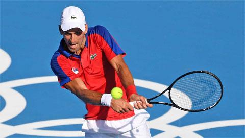 Djokovic tái đấu Kei Nishikori ở tứ kết Olympic Tokyo