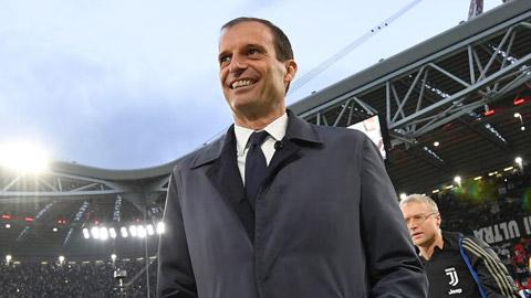 Allegri là số 1 về tỷ lệ chiến thắng tại Juventus