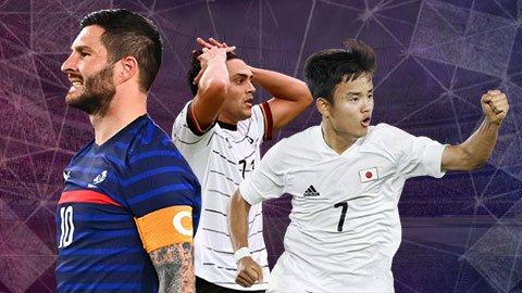 Nhìn lại vòng bảng bóng đá nam Olympic Tokyo 2020: Đầy rẫy những cú sốc
