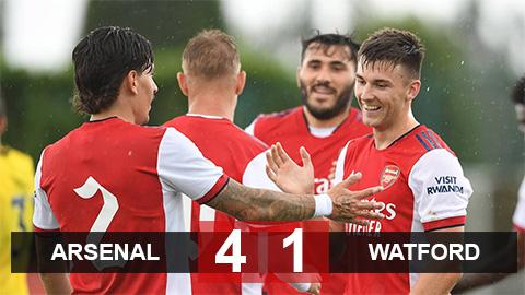 Kết quả Arsenal 4-1 Watford: Pháo thủ thắng trận giao hữu đầu tiên