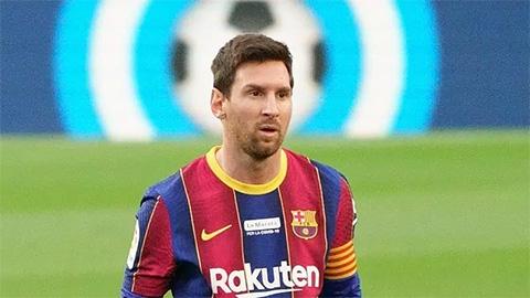 Messi trở lại Barca rồi... đi ngay