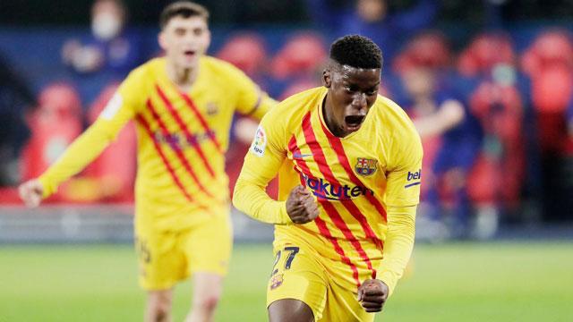 Ilaix Moriba đang đòi mức lương quá cao khiến Barca không thể đáp ứng