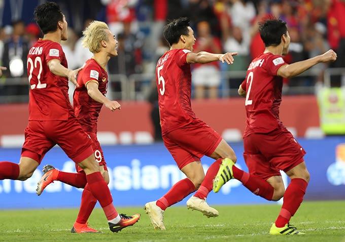 ĐT Việt Nam vào tứ kết Asian Cup 2019 - Ảnh: AFC