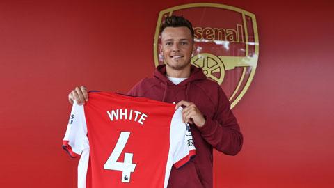 Arsenal chiêu mộ thành công Ben White