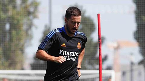 Đồng đội tại Real kinh ngạc với body mới độ của Hazard