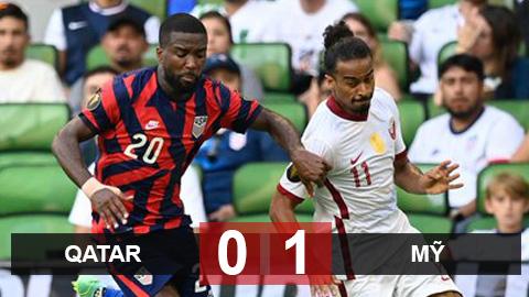 Kết quả Qatar 0-1 Mỹ: Mỹ vào chung kết Gold Cup 2021