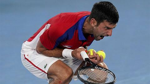 Djokovic sụp đổ sau thất bại ở bán kết Olympic Tokyo - mega 655