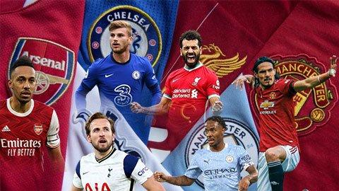 Man United sở hữu hàng công mạnh thứ ba ở nhóm Big Six