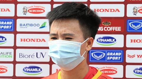 Tuyết Dung tự tin cùng ĐT nữ Việt Nam hướng đến World Cup