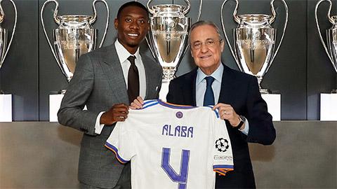 Lộ chi tiết lương và phí lót tay khủng Alaba nhận từ Real Madrid