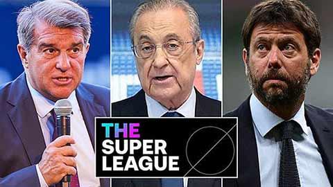 Dự án European Super League bổ sung cơ chế xuống hạng