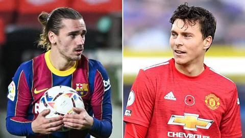 Barca đề nghị sốc với MU: Đổi Griezmann lấy Lindelof