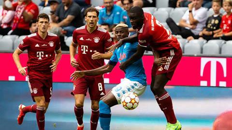 Kết quả giao hữu: Bayern thua trắng 0-3 tại sân nhà