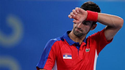 Djokovic trắng tay rời Olympic Tokyo 2020