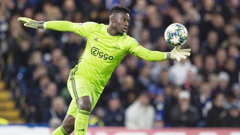 Lyon sắp có thủ thành Onana của Ajax