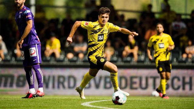 Reyna được kỳ vọng sẽ là chân sút chủ lực của Dortmund