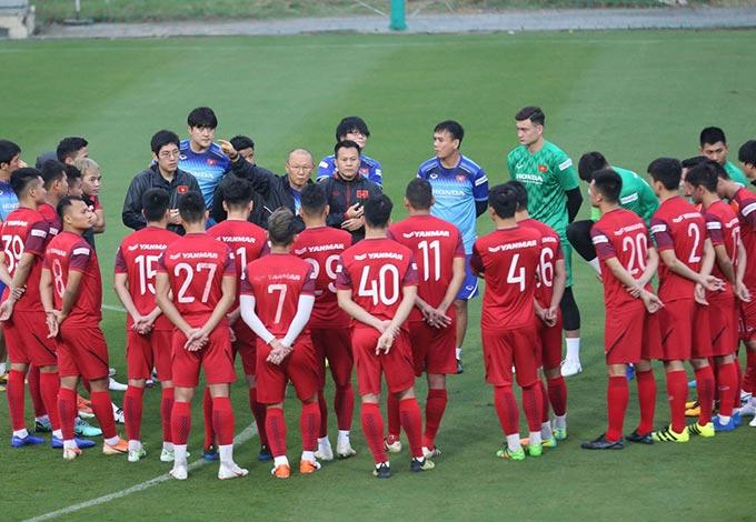Sang Việt Nam làm việc, dấu ấn của thầy Park ngày càng lớn về tính tổ chức, thúc đẩy sự tự tin cầu thủ