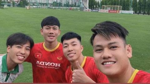 Tiến Anh, Minh Vương, Tấn Tài sớm lao vào tập luyện ở Hà Nội