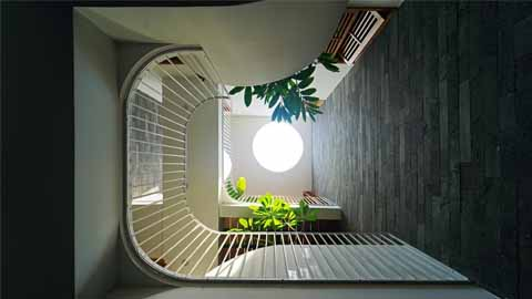 Dzmoon House - Không gian sống chan hòa với thiên nhiên