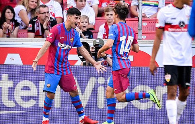 Demir chơi rất hay kể từ lúc gia nhập Barca