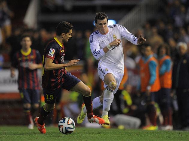 Pha tăng tốc kinh điển với vận tốc 44km/giờ của Gareth Bale trong trận El Clasico