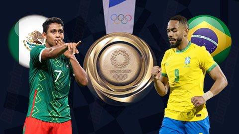 Nhận định bóng đá U23 Mexico vs U23 Brazil, 15h00 ngày 3/8: Không dễ đâu, Selecao!