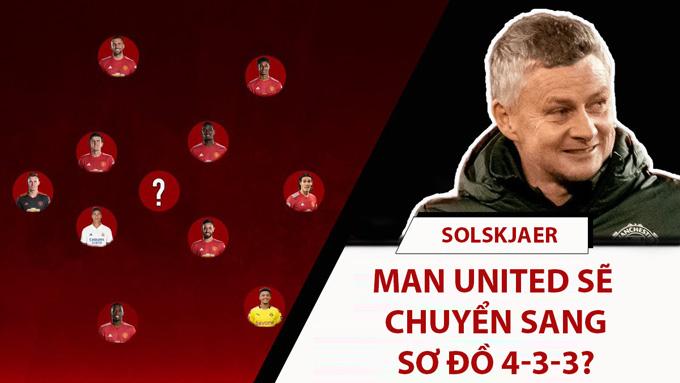 Solskjaer đang ấp ủ cho MU đá 4-3-3