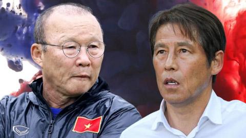 Sự thật về chuyện HLV Park Hang Seo nhận lương cao hơn Nishino
