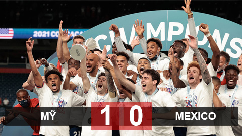 Kết quả Mỹ 1-0 Mexico: Chủ nhà vô địch Gold Cup 2021