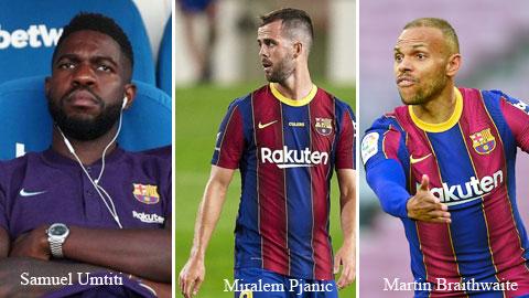 Barcelona vẫn muốn Saul & quyết đẩy đi 3 'cục nợ'