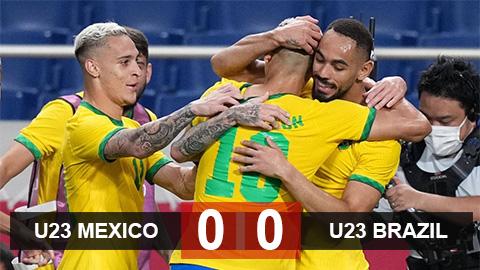 Kết quả U23 Mexico 0-0 (pen 1-4) U23 Brazil: Selecao lần thứ ba liên tiếp vào chung kết - bơi
