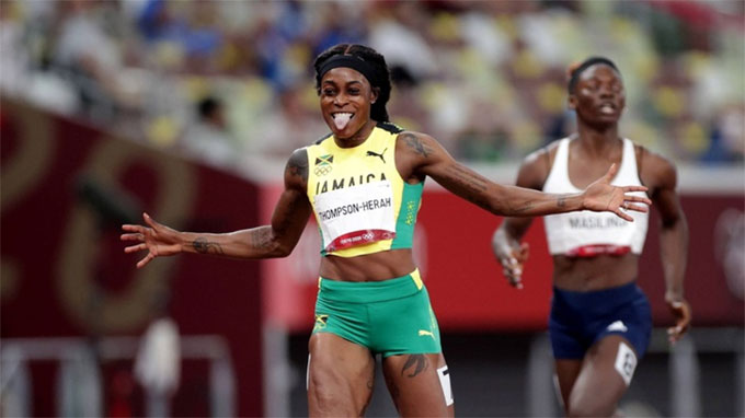 Thompson-Herah chiến thắng ở nội dung chạy 200m