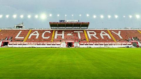 Chủ tịch Hải Phòng FC tự hào: 'Lạch tray có mặt sân mới đẹp nhất nhì Việt Nam'