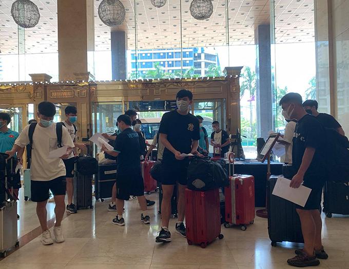ĐT Việt Nam hội quan chuẩn bị cho vòng loại thứ 3 World Cup 2022 khu vực châu Á