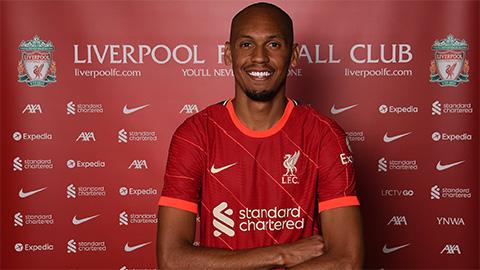 Liverpool 'trói chân' công thần Fabinho thêm 5 năm