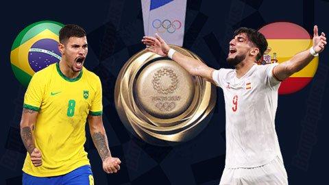 Nhận định bóng đá U23 Brazil vs U23 Tây Ban Nha, 18h30 ngày 7/8: Vàng… xanh & non