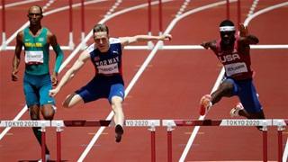 Chạy 400m rào Nam: Phá kỷ lục thế giới nhưng chỉ giành... HCB