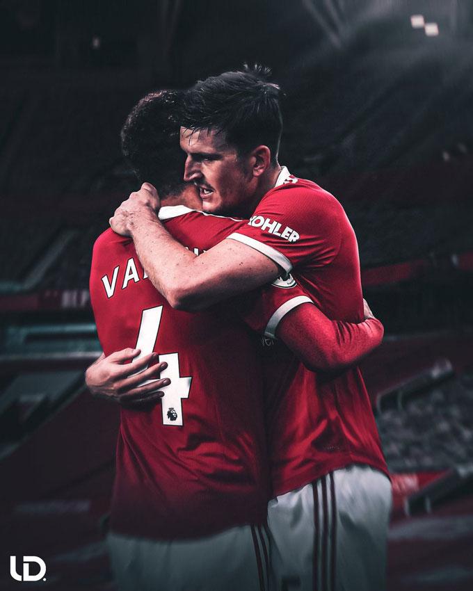 Maguire và Varane có thể trở thành một cặp Ferdinand - Vidic mới của Man United?