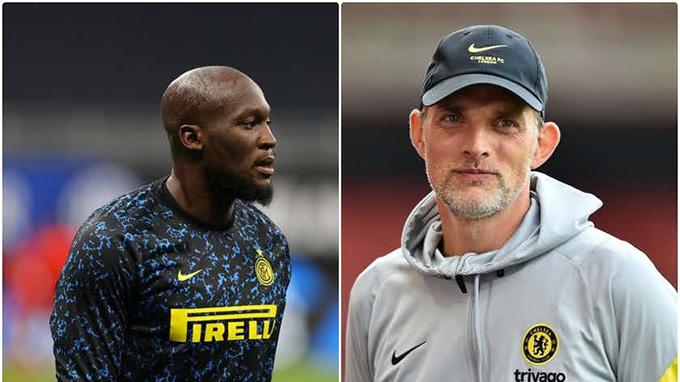 HLV Tuchel hờ hững trước tin đồn Chelsea mua Lukaku